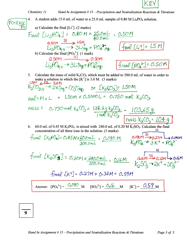 Titration Calculations Worksheet. Worksheets. Releaseboard ...