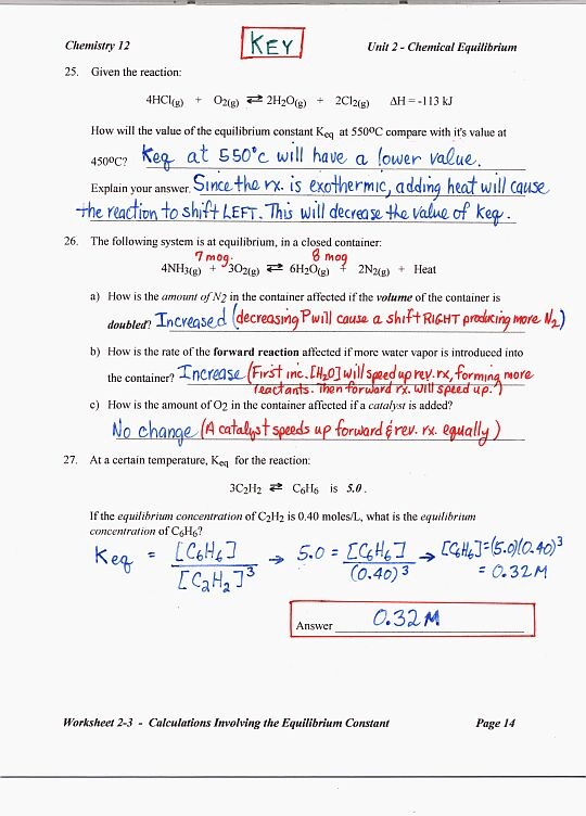 Worksheets Chemistry Review Worksheets solutions review worksheet answers chemistry intrepidpath 12