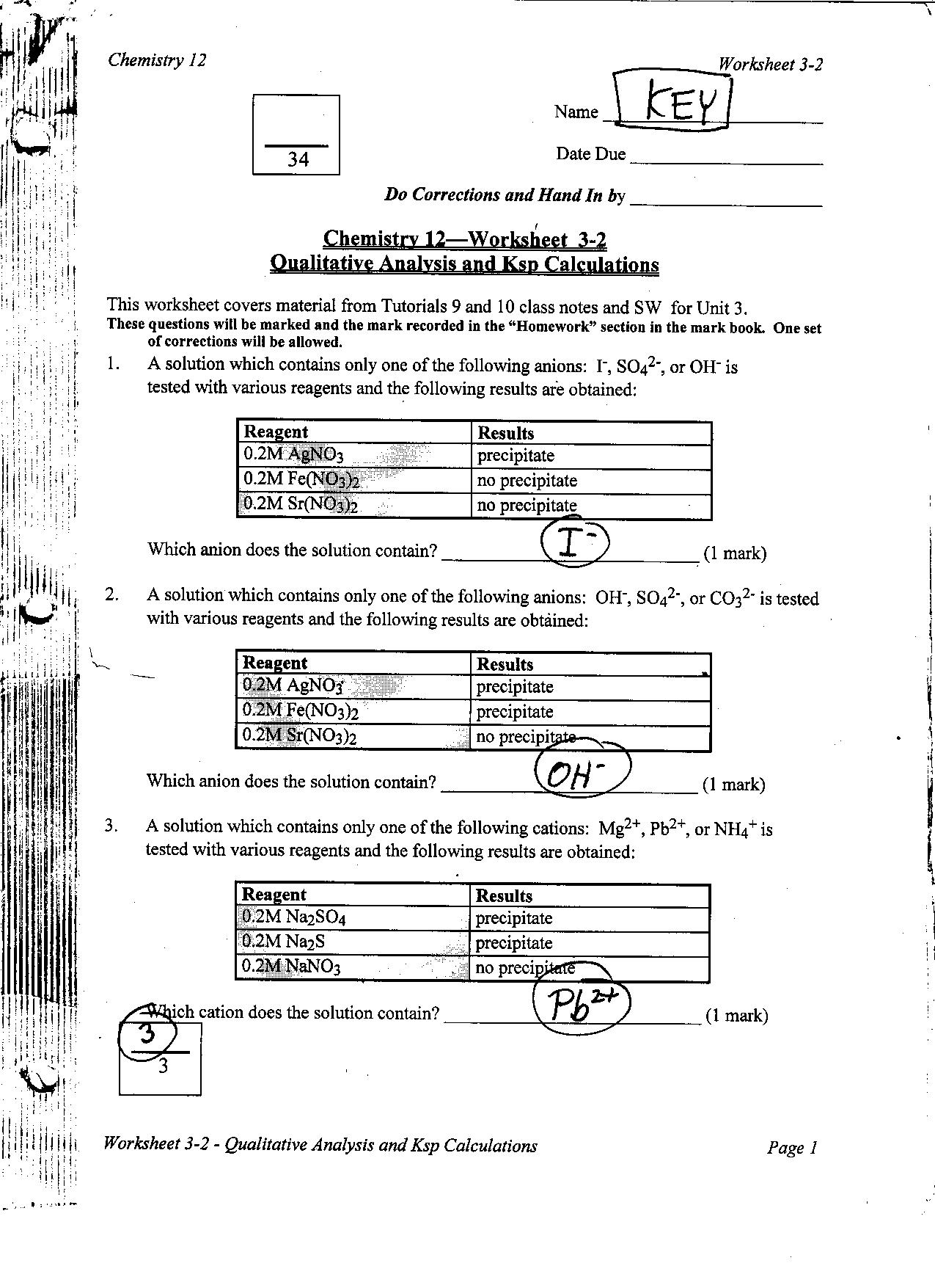 worksheet Calculating Ph Worksheet assignment3 2 keyp1 jpg p1